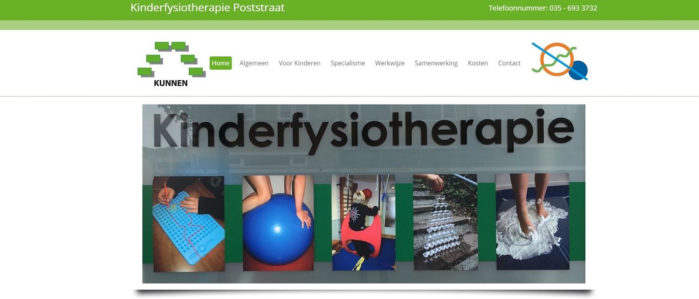 Kinderfysiotherapie Poststraat Bussum