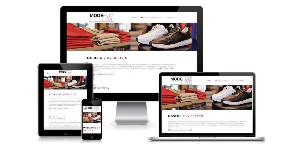 website juffrouw jannie modehuiz by betty's